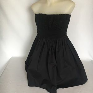 MM Couture By Miss Me Small Black strapless Dress